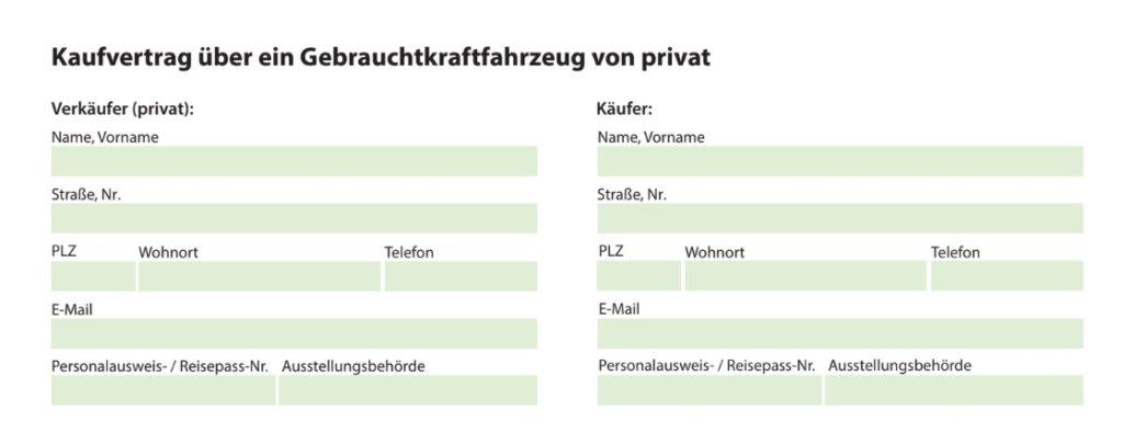 Kaufvertrag Auto Vorlage Word Schweiz Muster Vorlage Ch