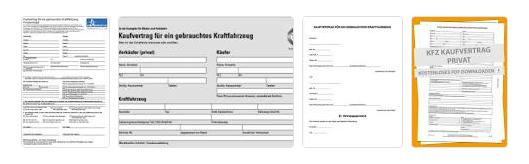 KFZ Kaufvertrag Muster
